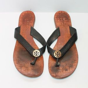 Tory Burch Women's Size 7 Thora Leather Sandals